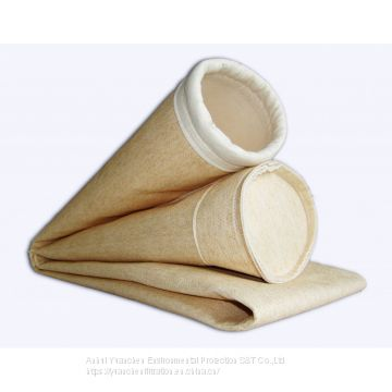 Nomex filter bag with ptfe membrane for dust collector baghouse use