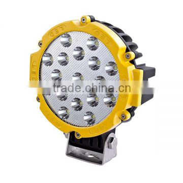 "Cheaper price waterproof mini jeep 7"" 10-30v 51w tractor 4x4 atv utv off road portable work light"