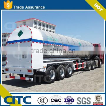 CITC chemical truck trailer co2 tank semi trailer with high quality for sale