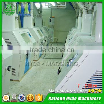 Fully automatic durum roller flour mill