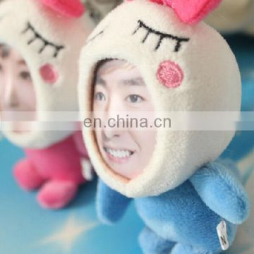 DIY 3d face frame toy,Realistic Human Face with Plush Toy