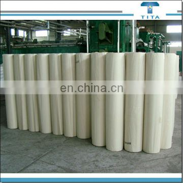 PVA non woven fabric 90 degree hot water soluble nonwoven fabric used for lace embroidery backing