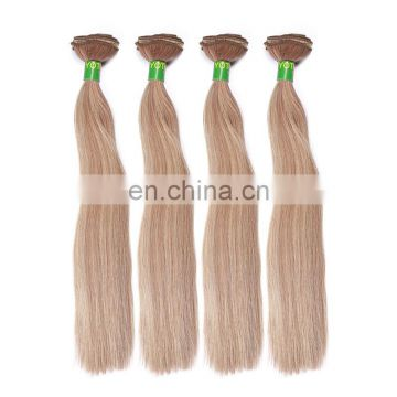 7A Best Quality 100g Hair Extensions 100% European Human Remy Hair Black Brown Blond Double Drawn