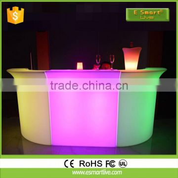 led luminous bar counter/led illuminating bar counterLed Luminous Bar Counter2015 Best Hot Sale Led Furniture