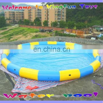 10M round inflatable pool/water pool for swimming