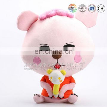 Zhejiang manufactory produce baby plush cute toys cloth book