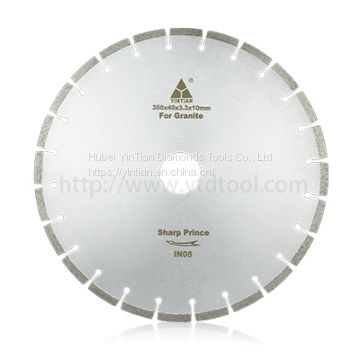 Yintian hot sale 14″ stone cutting tools circular granite saw blade