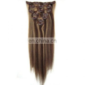 10pcs Yonna Hair Clips in Remy Human Hair Extensions 24 Colors for Women Beauty Hot Sale
