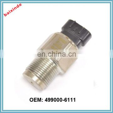 Auto parts Common Rail Pressure Sensor 499000-6111 4990006111