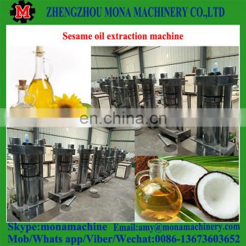 High quality easy to operate olive oil extraction machine/cashew nut oil press machine/sesame oil press machine