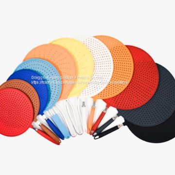 Splatter Screen Heat-resistance Silicone Material