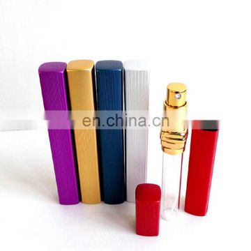 Top quality 8ml /10ml /15ml Empty Mini Refill Perfume Atomizer Spray Bottle
