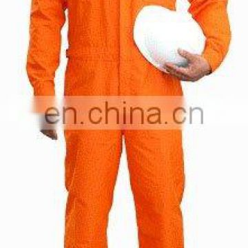 100% cotton Flame Resistant Coverall