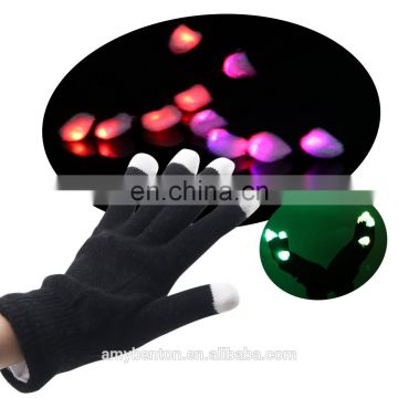 High quality Carnival LED Flashing Party Gloves