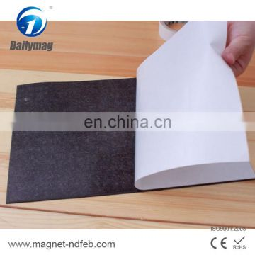 Self Adhesive Flexible Soft Rubber Magnetic Sheet