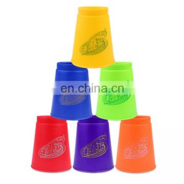 New christmas gift ,6 PCS Mixed Colors Speed Stack IV Speed Training Sports Stacking Cups