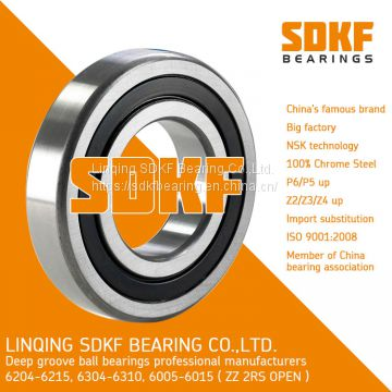 SDKF 6304-2RS-ZZ Metal Shielded Seal Deep Groove Ball Bearing 20x52x15mm