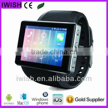 2014 new android 4.0 3g smart watch