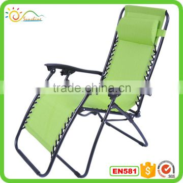 Pleasing Recliner Foldable Zero Gravity Recliner Beach Chair Lounge Machost Co Dining Chair Design Ideas Machostcouk