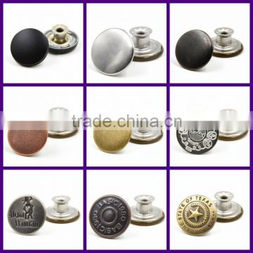 High-end apparel accessories bulk snap fasteners