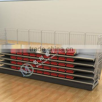 Ceremony Retractable Seating System Used Chair Telescopic Bleacher For Sale                                                                         Quality Choice
