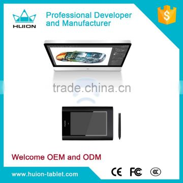 Huion w58 digital art tablet drawing wireless interactive graphic tablet