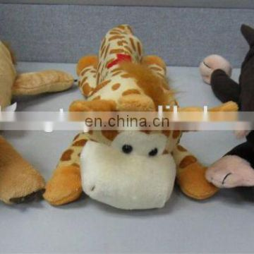 lovely plush animal pencil case