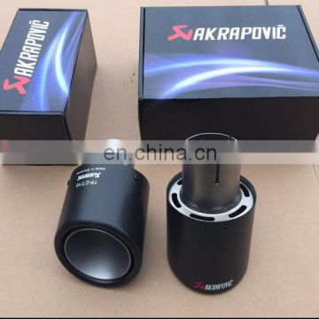 high quality akrapovic carbon fiber exhaust tip
