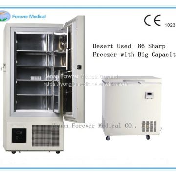 -86 Degree Chest 220V Power Supply Deep Freezer Refrigerator