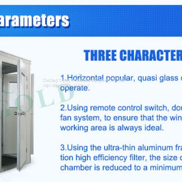 clean room Automatic blowing  interlock Air shower