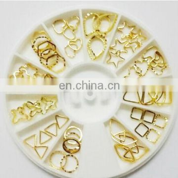 Wholesale popular gold nail product nail art bulk