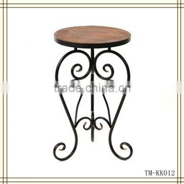 2013 New Design Wrought Iron coffee table