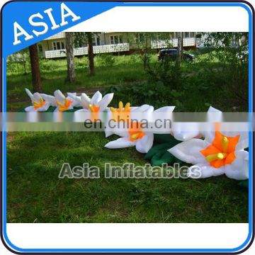 Festival decoration custom inflatable flowers for sale
