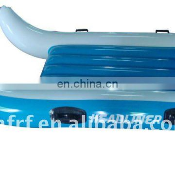 2013 hot sale inflatable blue snow sledge
