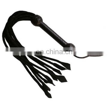 HMB-520B LEATHER RIDING BULLWHIPS FLOGGER HANDMADE WHIPS BRAIDS STYLE