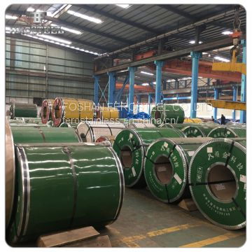 Best price rich stock 430 2B cold rolled stainless steel coil per kg