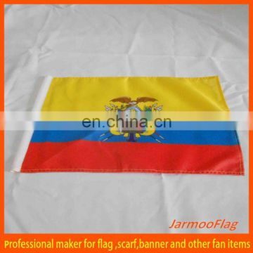 printed fabric Ecuador flag
