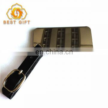 High Quality Stainless Steel Shiny Luggage Tag