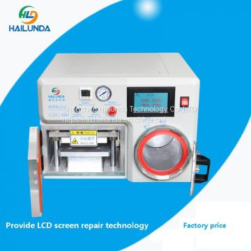 OCA vacuum laminating machine for Curved and flat LCD screen Max7