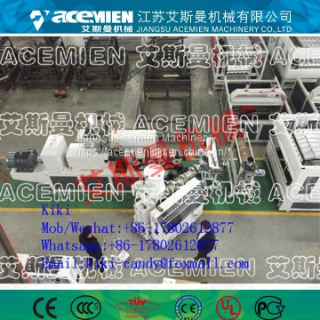Eco-friendly PVC tile manufacturing machine