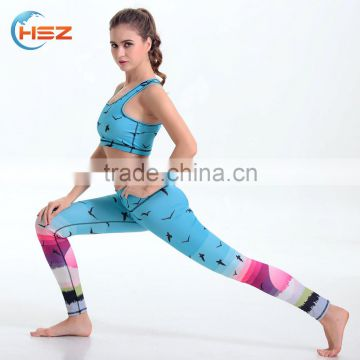 HSZ-YD46011 Sexy indian hot sex tight photos legging free panties sample sport tights leggings women yoga wear