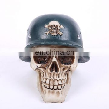 3D Polyresin Decorative Skull Money box