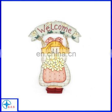 Hanging resin doorplate,door hanging decoration