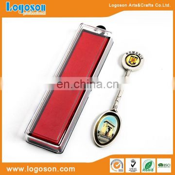 Fashional Style high quality custom metal souvenir spoon