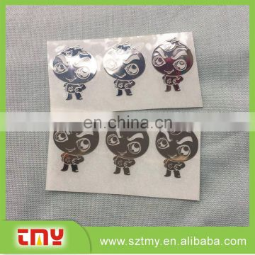 Custom home decoration metal Nickel logo for furnitures