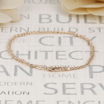The Rose Gold Plated Charm Bracelet