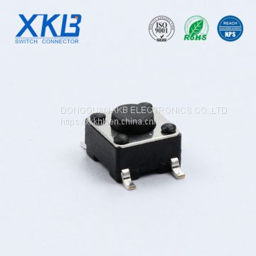 XKB brand normally closed  6*6 tact switch made in China