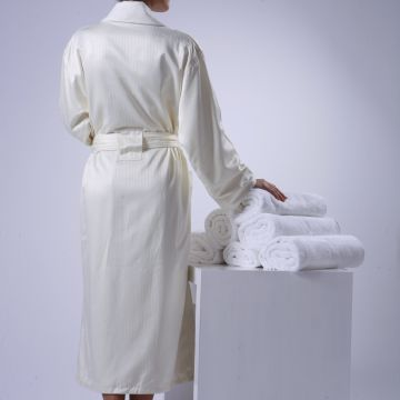 Eliya Wyndham Hotel Cotton Terry Towelling Bathrobe