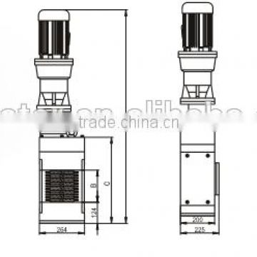 different kinds of size for channel grinder