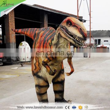 Customized Trade Assurance adult dinosaur suit costume from Zigong famous manufacturer